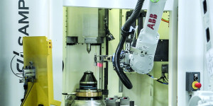 GR 250 grinding machine for worm screw