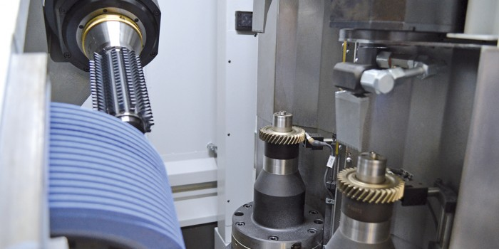 Gear dry grinding SG 160