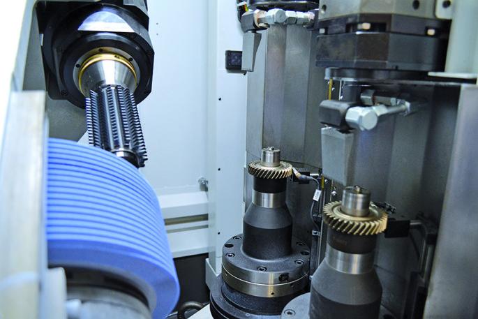 Gear dry grinding SKYGRIND Samputensili