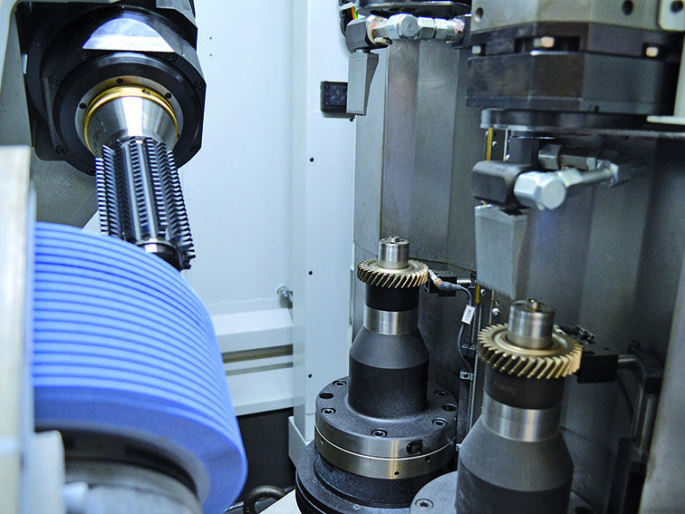 What is a gear dry grinding? | Samputensili Machine Tools
